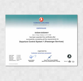 Turkish Airlines - Departure Control Systems 1