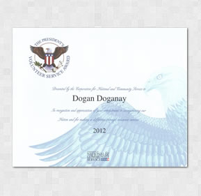 The President's Volunteer Service Award